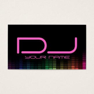 DJ Girl Business Card