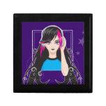 DJ Girl Trinket Box