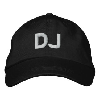 DJ GORRA BORDADA