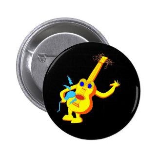 DJ Guitar Man Button
