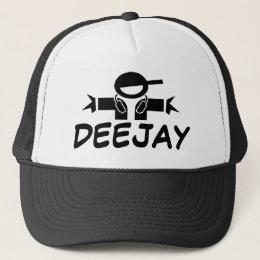 DJ hat | Cap with DJ wearing headphones