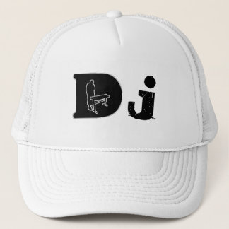 DJ Head Gear by Deneuralyzer Design Trucker Hat