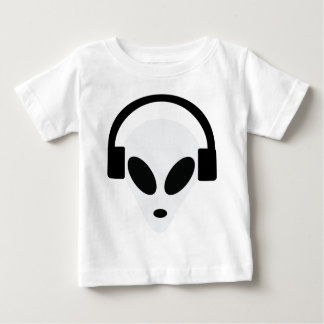dj headphone alien area 51 baby T-Shirt
