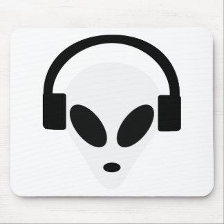 dj headphone alien area 51 mouse pads