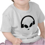 dj headphone alien area 51 shirts