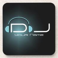 DJ Headphone Cork Coaster