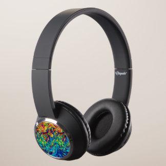 DJ Headphones Fluid Colors