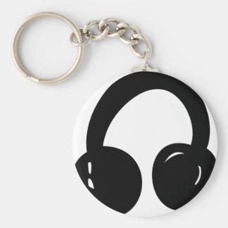dj headphones key chain