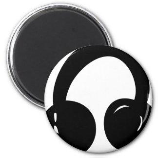dj headphones magnet