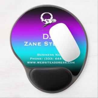 DJ Headphones Microphone Gel Mouse Pad