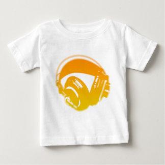 DJ Headphones - Music Disc Jockey DJing Loud Baby T-Shirt