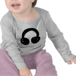 dj headphones t-shirts