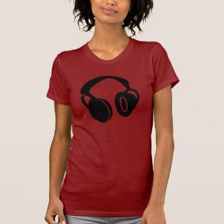 DJ Headphones Tee Shirts