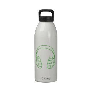 DJ Headphones Drinking Bottles