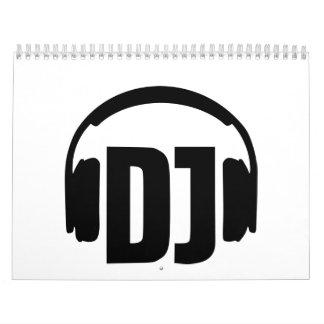 DJ headphones Calendar