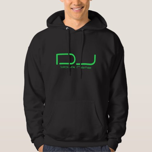 DJ HOODED SWEATSHIRT