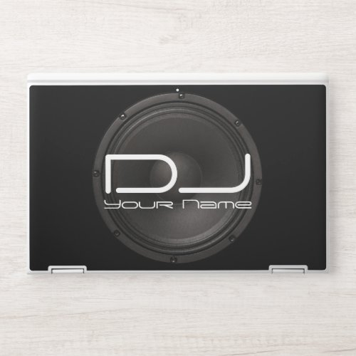 DJ HP LAPTOP SKIN