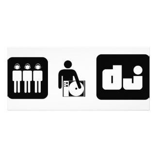 DJ ICONS RACK CARD