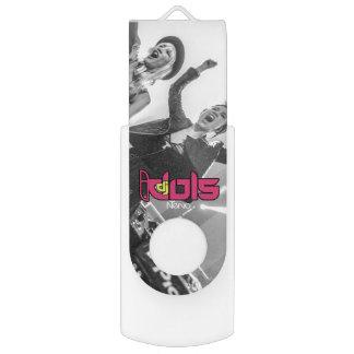 DJ IDOLS: Nervo USB Flash Drive Swivel USB 2.0 Flash Drive