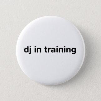 DJ In Training Pinback Button