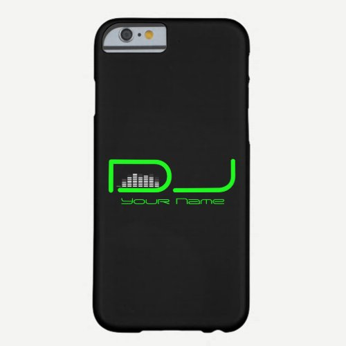 DJ iPhone 6/6s case with Equalizer