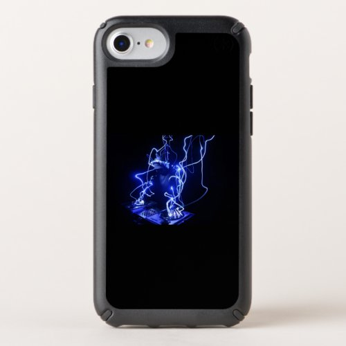 DJ iPhone 8/7/6s/6 Case - Blue