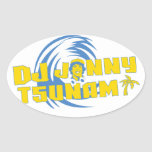 DJ Jonny Tsunami Sticker