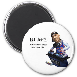 DJ JS-1 magnet!!! 2 Inch Round Magnet