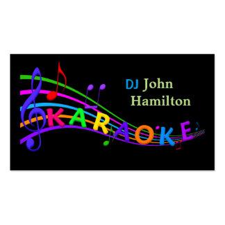 DJ Karaoke Business Card