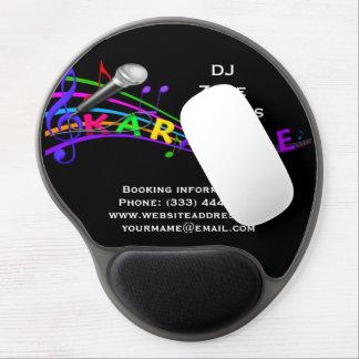 DJ Karaoke Gel Mouse Pad
