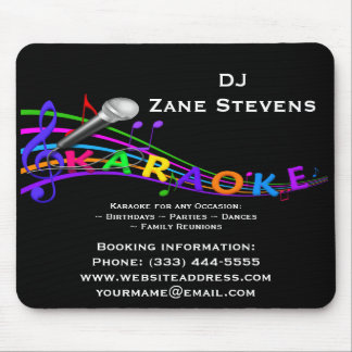 DJ Karaoke Mouse Pad