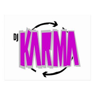 DJ Karma Gear Postcard