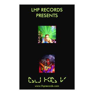 DJ Kid V Promo Flyer