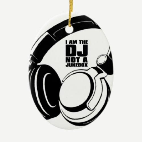 DJ KLASH-GEAR - DJ NO REQUESTS CERAMIC ORNAMENT
