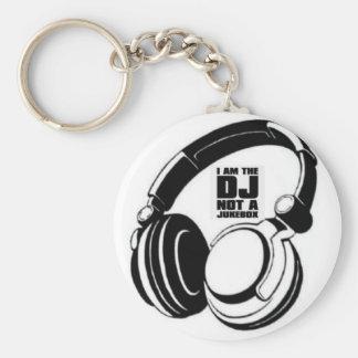 DJ KLASH-GEAR - DJ NO REQUESTS KEYCHAINS