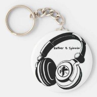 DJ KLASH-Gear -Rather be_Spinnin' Key Chain