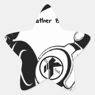 DJ KLASH-Gear -Rather be_Spinnin' Star Sticker