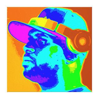 DJ Kolor Canvas Print