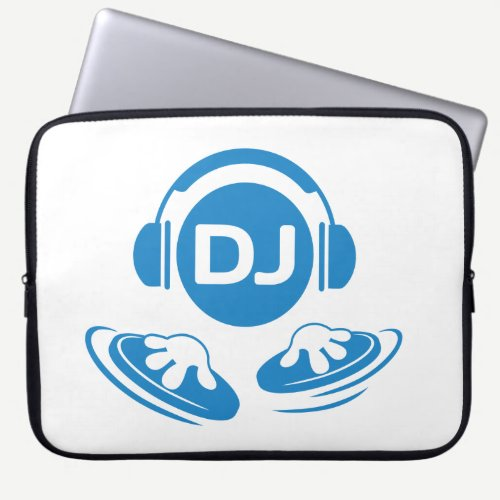 DJ laptop sleeve for DJ's and music lovers