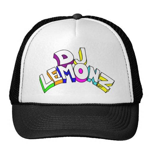 DJ LEMONZ BIG LETTERS TRUCKER HAT