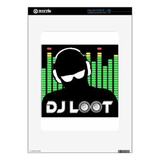 DJ Loot Decals For iPad