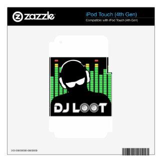 DJ Loot iPod Touch 4G Skin