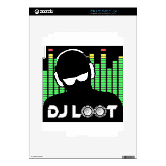 DJ Loot Skins For The iPad 2