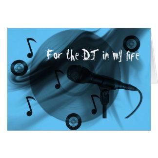 DJ Love Greeting Card