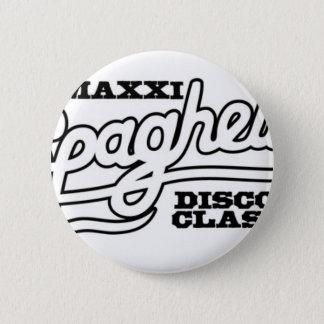 DJ MAXXI SPAGHETTI DISCO CLASSICS PINBACK BUTTON