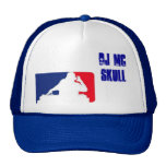 DJ MC SKULL KIDS MESH HAT