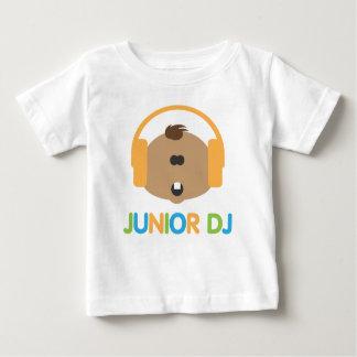 DJ menor - Bebé Brown - camiseta del niño Playeras