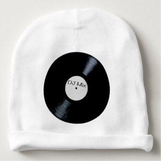 DJ Mix Record Label Baby Beanie