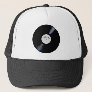 DJ Mix Record Label Trucker Hat