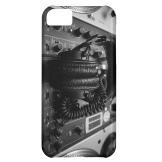 Dj Mixer and Headphones iPhone 5 Case